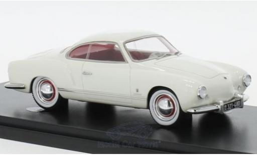 Volkswagen Karmann 1/43 AutoCult Ghia Prougeotyp blanche 1954 miniature