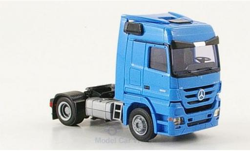 Mercedes Actros 1/87 AWM 1855 MP3 2-Achser Aerop. bleue miniature