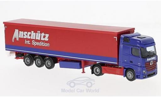 Mercedes Actros 1/87 AWM 2 Big. Aerop. Anschütz Schubb.-SZ miniature