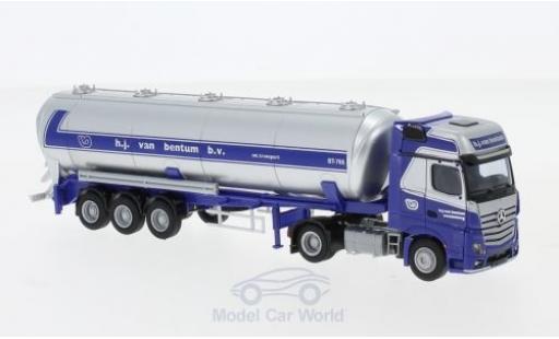 Mercedes Actros 1/87 AWM 2 GigaLiner /Aerop. Van Bentum Kippsilo-Sattelzug miniature