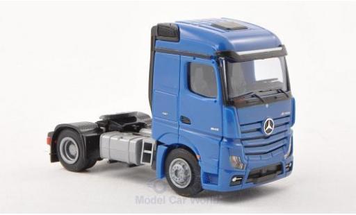 Mercedes Actros 1/87 AWM 2 Streamspace bleue Solo-Zugmaschine 2-Achsig bleue miniature