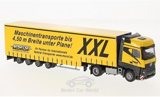 Mercedes Actros 1/87 AWM 2 Big./Aerop. Morof Jumbo-G-KSZ miniature