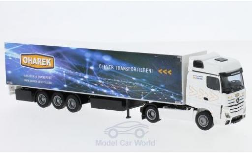 Mercedes Actros 1/87 AWM 2 Big. Aerop. Oharek KSZ diecast model cars
