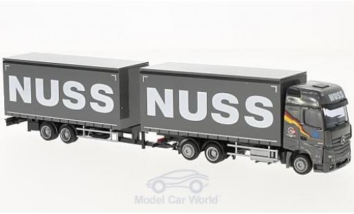Mercedes Actros 1/87 AWM 2 Giga. Nuss Jumbo-G-KHZ miniature