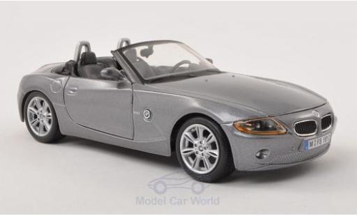 Bmw Z4 1/24 Bburago BMW metallic-grise Verdeck geöffnet miniature