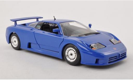 Bugatti EB110 1/24 Bburago EB 110 blue diecast model cars