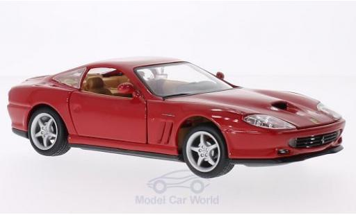 Ferrari 550 Maranello 1/24 Bburago red diecast model cars