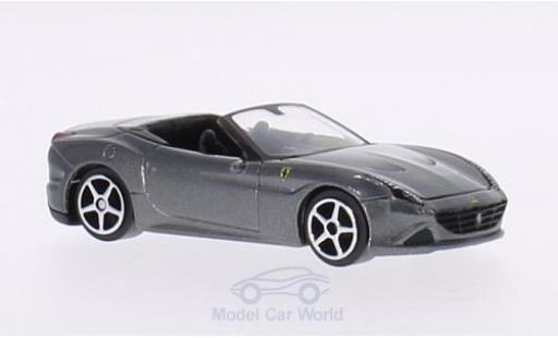 Ferrari California 1/64 Bburago T metallic-grey diecast