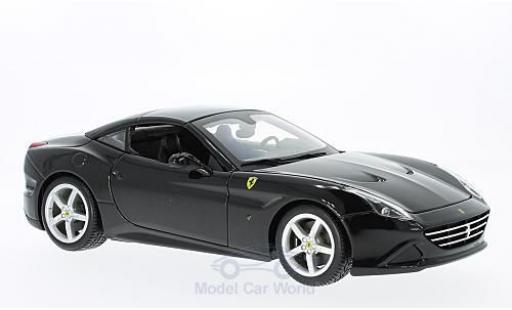 Ferrari California 1/18 Bburago T nero 2014 geschlossen ohne Vitrine miniatura