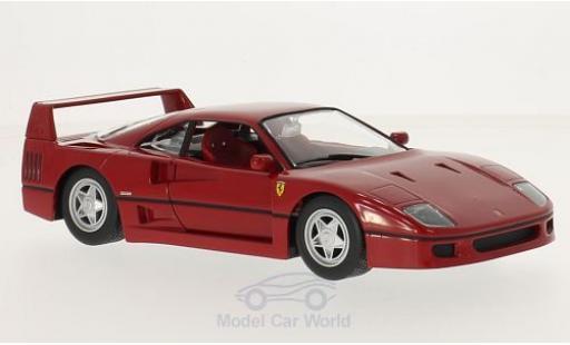 Ferrari F40 1/24 Bburago rosso miniatura