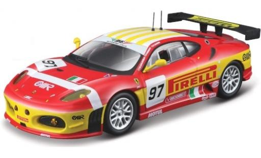 Ferrari F430 1/43 Bburago GTC No.97 BMS Scuderia Italia Pirelli 24h Le Mans 2008 F.Babini/M.Malucelli/P.Ruberti