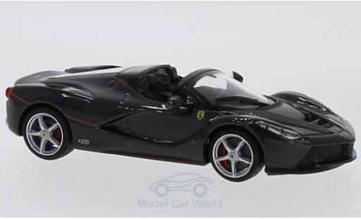 Ferrari LaFerrari 1/43 Bburago Laferrari Aperta noire miniature