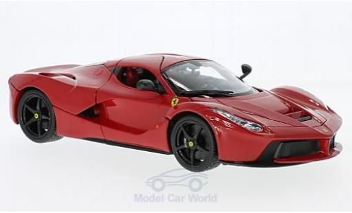 Ferrari LaFerrari 1/18 Bburago La rouge miniature