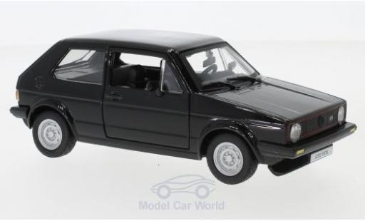 Volkswagen Golf V 1/24 Bburago MKI GTI noire 1979 miniature