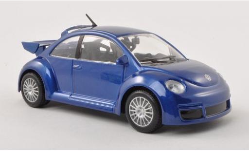 Volkswagen New Beetle 1/24 Bburago RSI metallise bleue miniature