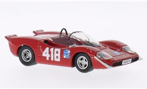 Abarth 2000 1/43 Best S No.418 1969 F.Pilone miniature