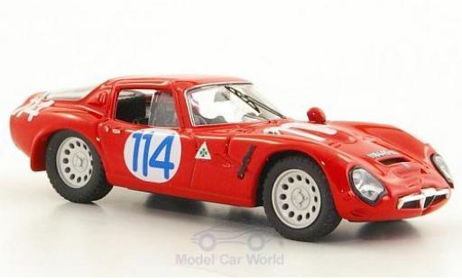Alfa Romeo TZ2 1/43 Best TZ 2 No.114 Targa Florio 1966 miniature