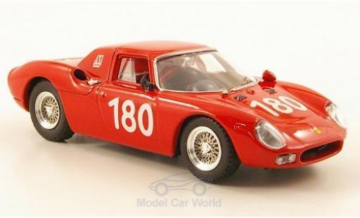 Ferrari 250 LM 1/43 Best No.180 Targa Florio 1966 C.Ravetto/G.Starrraba coche miniatura