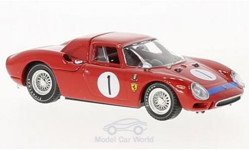 Ferrari 250 P 1/43 Best LM RHD No.1 6h Perth Caversham 1965 Martin/Mckay miniature