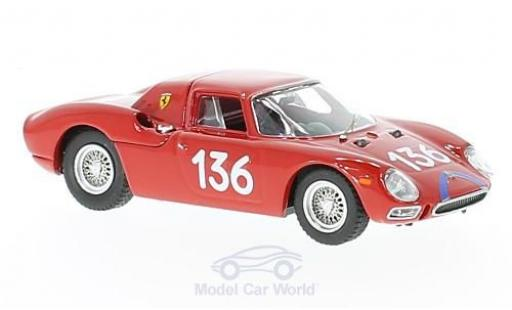 Ferrari 250 LM 1/43 Best LM RHD No.136 Targa Florio 1965 A.Nicodemi/F.Lessona miniature