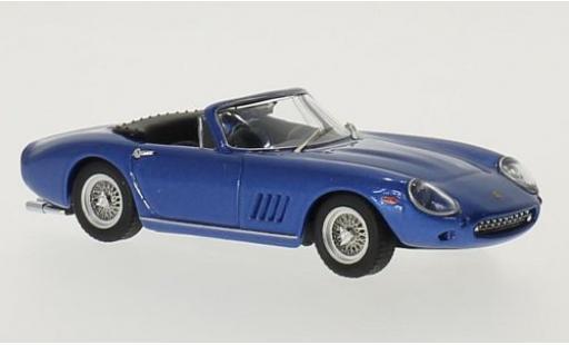 Ferrari 275 1/43 Best GTB/4 NART metallise bleue Steve McQueen miniature
