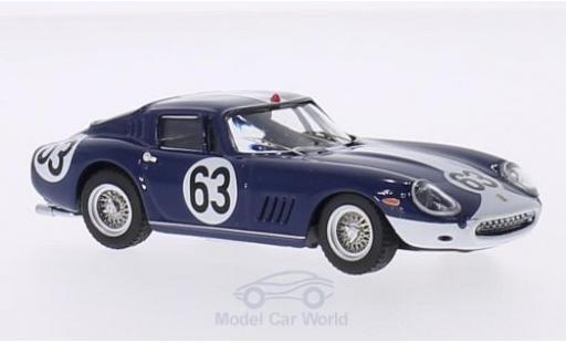 Ferrari 275 1967 1/43 Best GTB/4 No.63 24h Spa 1967 P.Vestey/C.Gaspar miniature