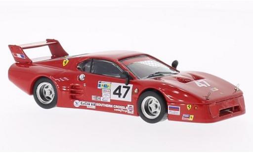 Ferrari 512 1/43 Best BB LM No.47 Tide Racing Daytona 500 1982 A.Davis/B.De Dryver miniature