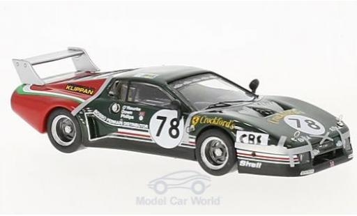 Ferrari 512 1/43 Best BB LM No.78 24h Le Mans 1980 S.O Rourke/S.Phillips/R.Down miniature