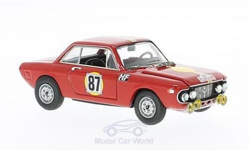 Lancia Fulvia HF 1/43 Best Coupe 1.3 HF No.87 Tour de Corse 1967 S.Munari/L.Lombardini diecast