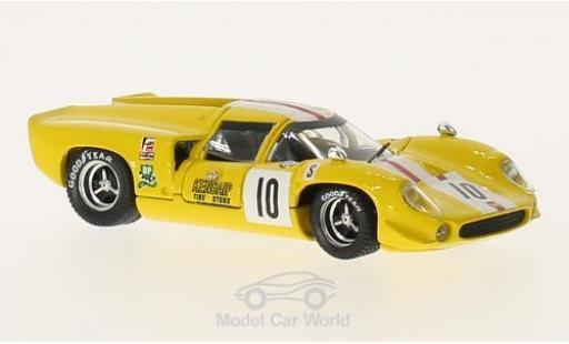 Lola T70 1968 1/43 Best Coupe No.10 12h Sebring J.Bonnier/S.Axelsson coche miniatura