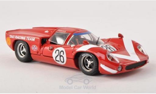 Lola T70 1/43 Best Coupe No.26 Taki Racing Team GP Japan 1968 miniature