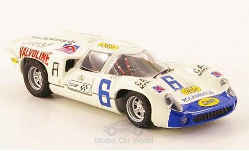 Lola T70 1/43 Best Coupe RHD No.6 Valvoline Taruma 1971
