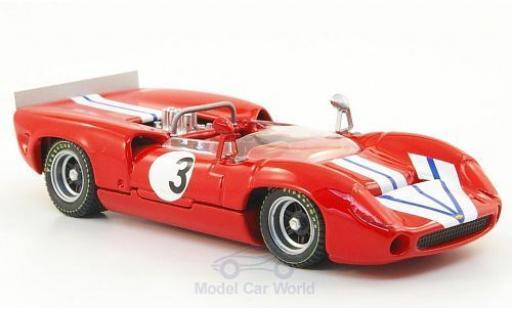 Lola T70 1968 1/43 Best Spider No.3 Bridgehampton G.Ralph coche miniatura