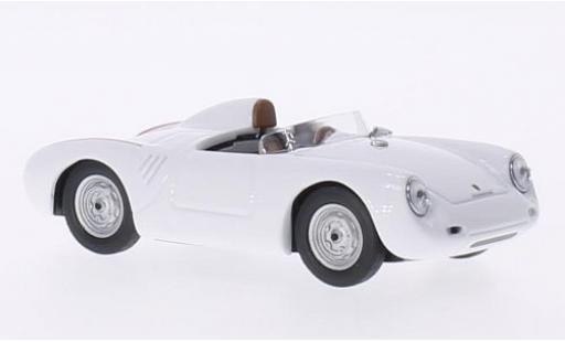Porsche 550 1/43 Best RS blanche 1957 miniature