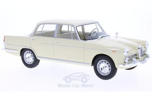 Alfa Romeo 2000 1/18 BoS Models beige 1958 miniature