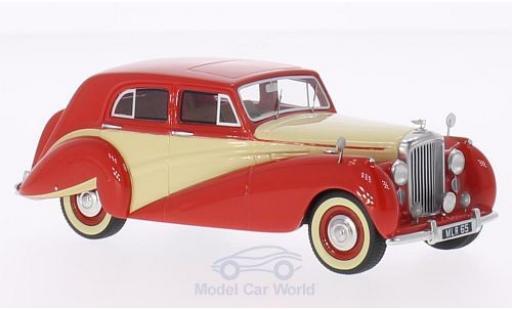 Bentley Mark 6 1/43 BoS Models MK VI Harold Radford Countryman Saloon rouge/beige RHD 1951 miniature