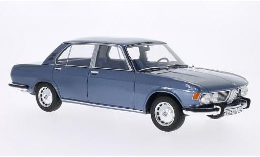 Bmw 2500 1/18 BoS Models (E3) metallise grise 1968 miniature