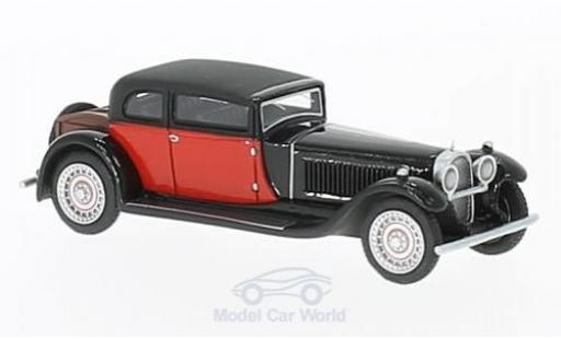 Bugatti 41 1/87 BoS Models Type Royale by Weymann negro/rojo RHD 1929 coche miniatura