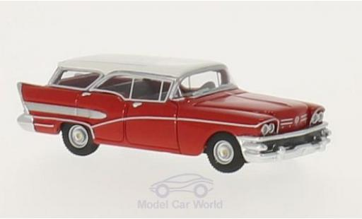 Buick Century 1/87 BoS Models Caballero rouge/blanche 1958 miniature