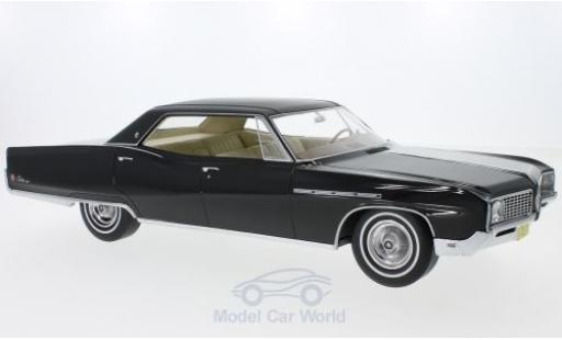 Buick Electra 1/18 BoS Models 225 4-Door Hardtop noire 1968 ohne Vitrine miniature