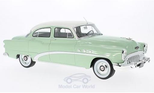 Buick Special 1/18 BoS Models 4-Door Tourback Sedan verte/blanche 1953 miniature