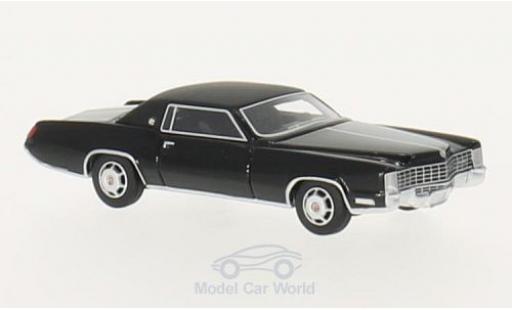 Cadillac Eldorado 1/87 BoS Models black/matt-black 1968 diecast model cars
