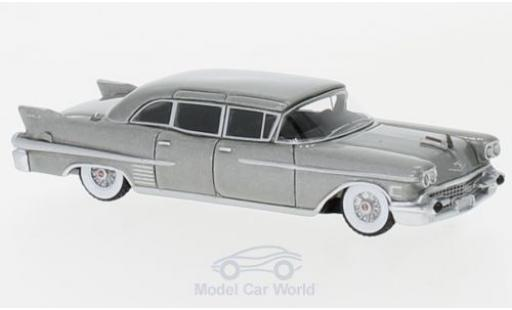 Cadillac Fleetwood 1/87 BoS Models 75 Limousine metallise grey 1958 diecast model cars
