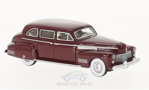 Cadillac Fleetwood 1/87 BoS Models 75 Touring Sedan metallise rouge 1941 miniature