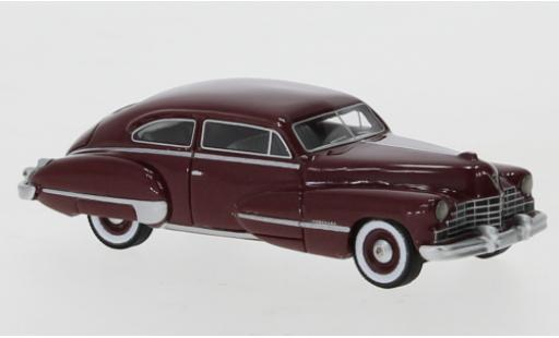 Cadillac Series 62 1/87 BoS Models Club Coupe metallise red 1946 diecast model cars