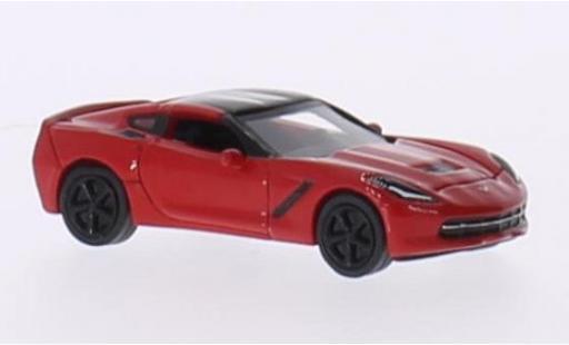 Chevrolet Corvette 1/87 BoS Models (C7) Stingray red/black 2013 diecast model cars