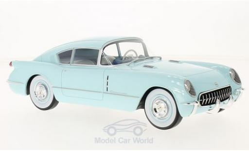 Chevrolet Corvette C1 1/18 BoS Models Corvair Concept blue 1954 diecast model cars