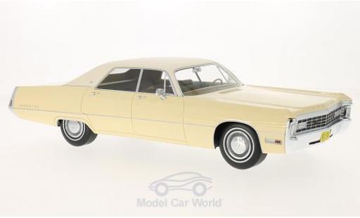 Chrysler Imperial 1/18 BoS Models LeBaron 4-door Hardtop beige/beige 1971 miniature