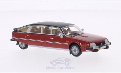 Citroen CX 1/43 BoS Models Nilsson rouge/matt-noire 1985 miniature