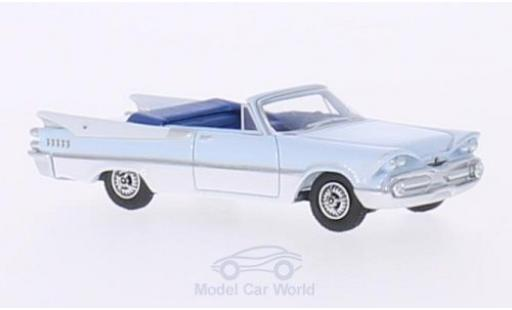 Dodge Custom Royal Lancer 1/87 BoS Models Convertible hellblue/white 1959